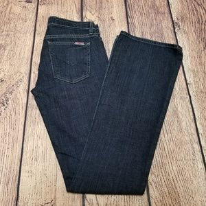 Women's Hudson Bootcut Jeans Size 26   Dark Wash